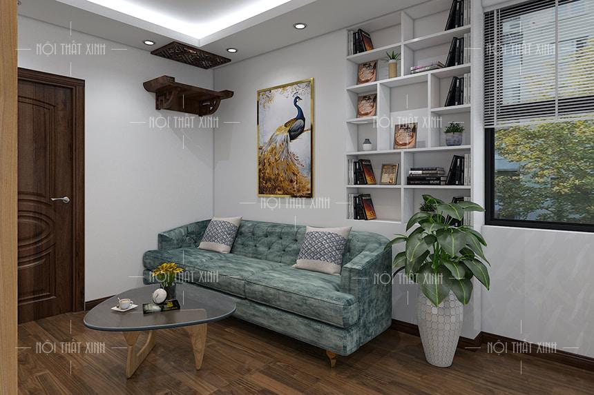 thiết kế nội thất chung cư hiện đại mr tuyến