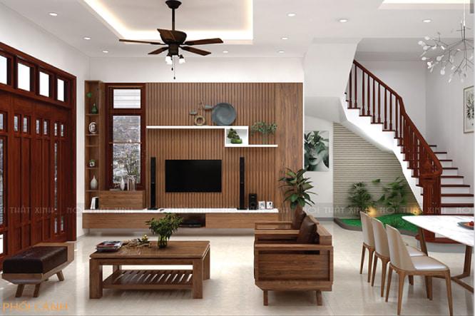 xây nhà trọn gói nội thất xinh