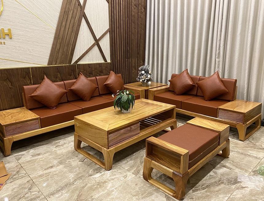cách mua bộ bàn ghế gỗ phòng khách
