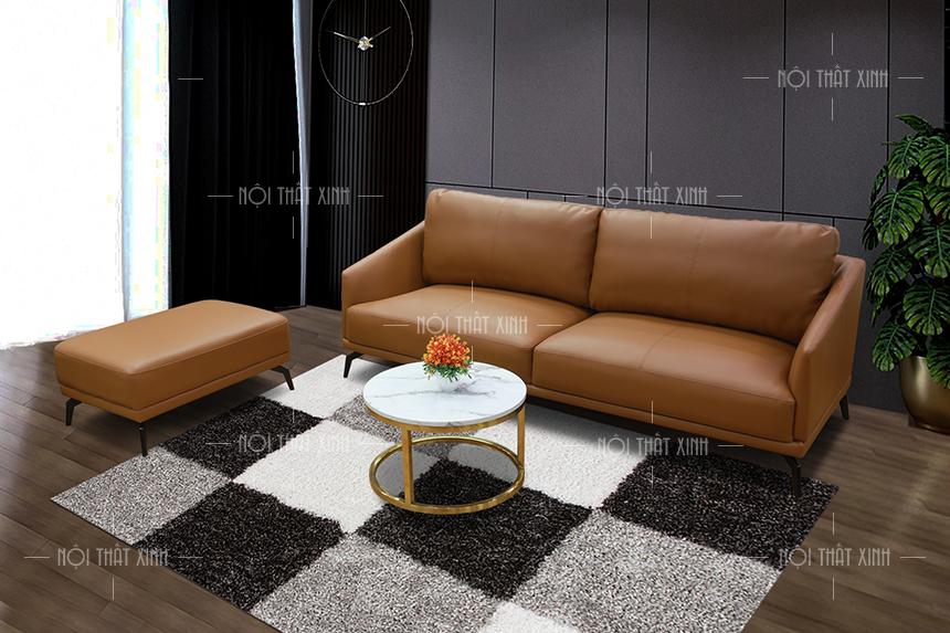 bàn trà kết hợp sofa